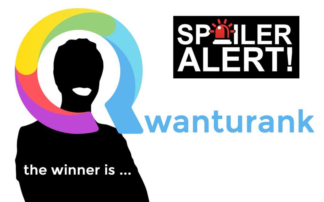 Spoiler : le vrai gagnant du concours SEO Qwanturank est …