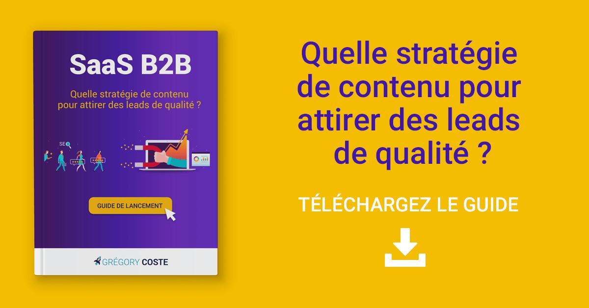 B2B SaaS ebook : un livre blanc pour lancer une stratégie de contenu qui génère des leads