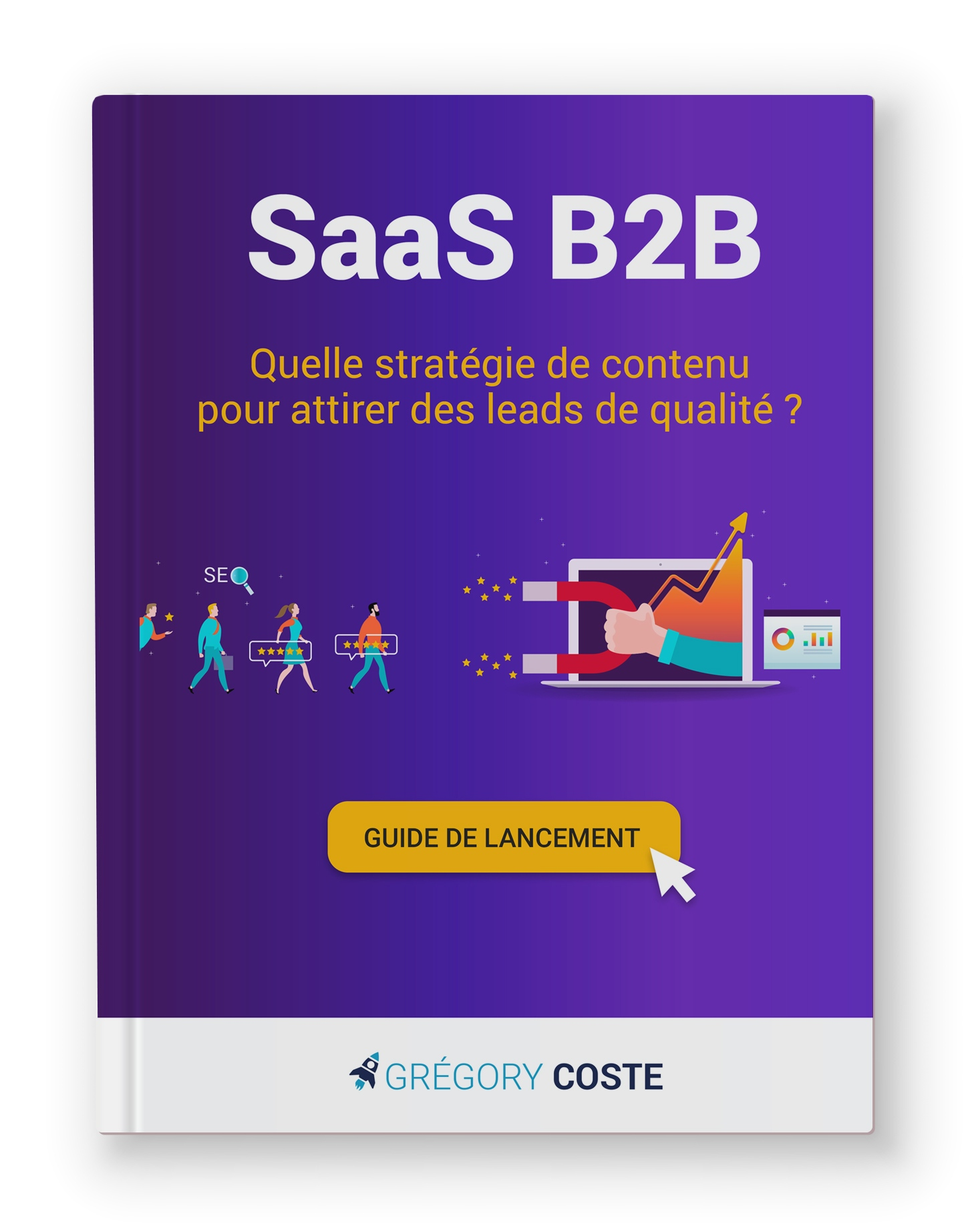 SaaS ebook : guide content marketing b2b