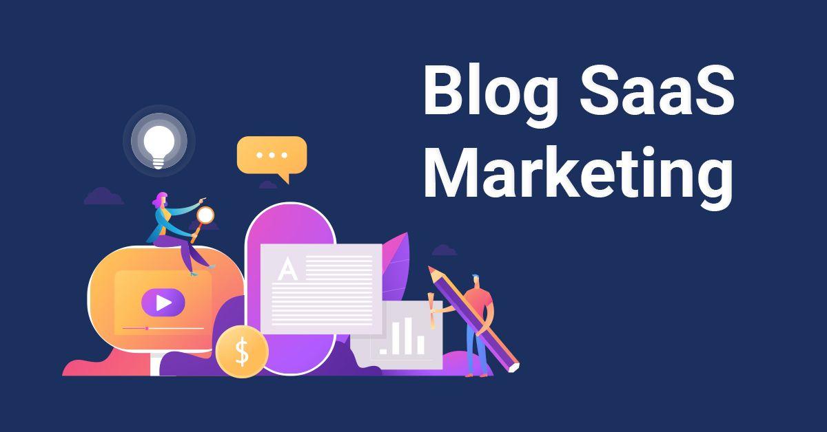 blog saas marketing avec des experts