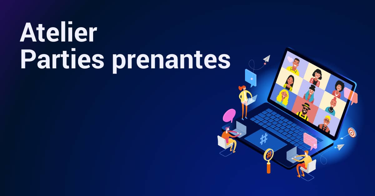 atelier inbound marketing : cartographie des parties prenantes