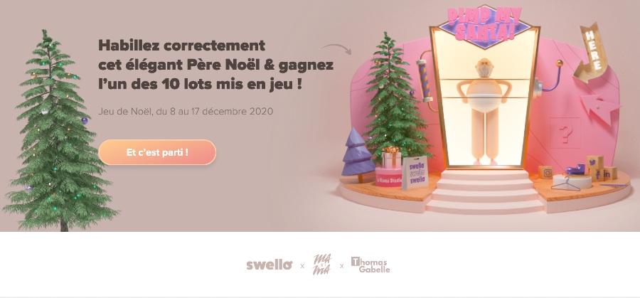 Le jeu Pimp My Santa par Swello
