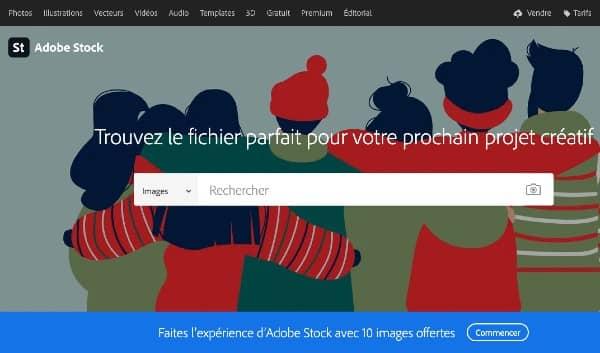 outils de rédaction web : les banques d'images