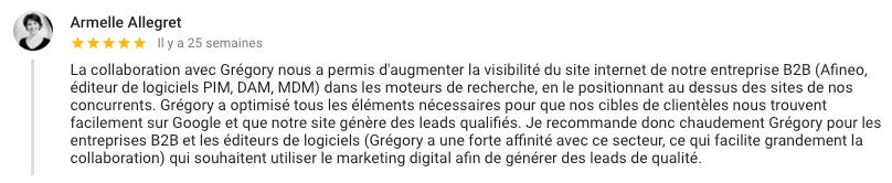 Exemple de digital brand content