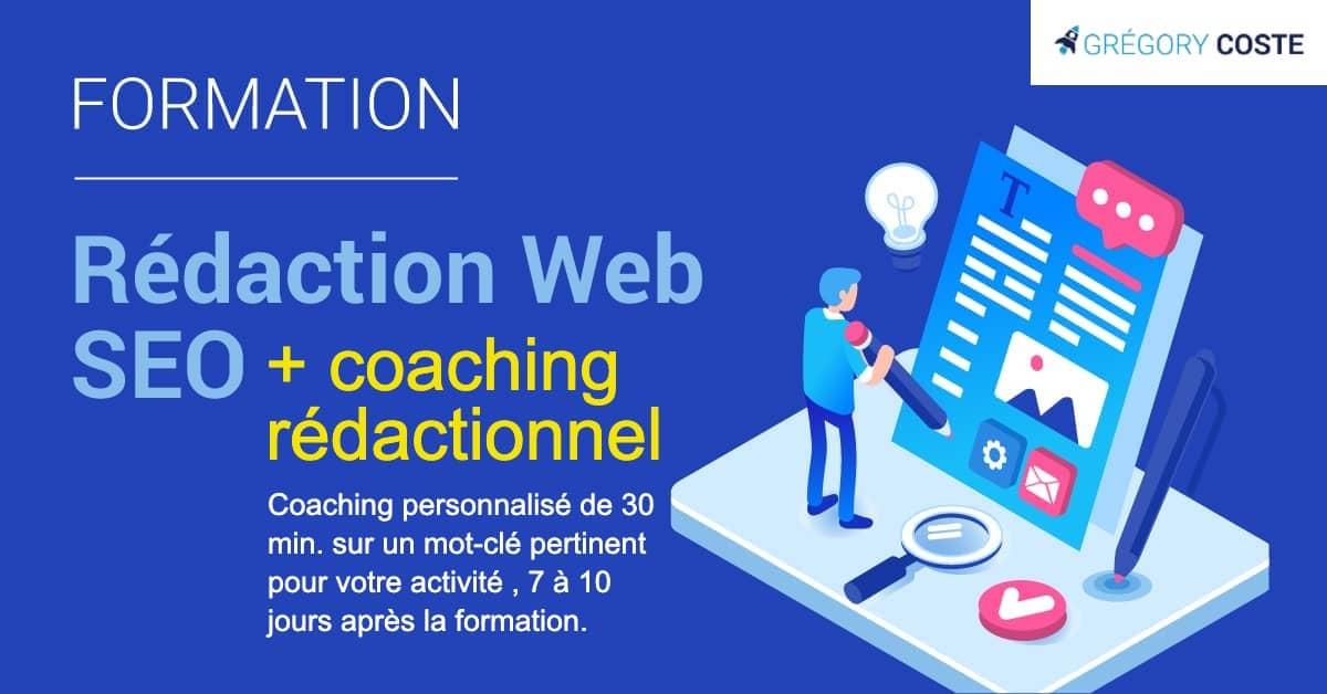 formation en rédaction web SEO avec un coaching reédactionnel