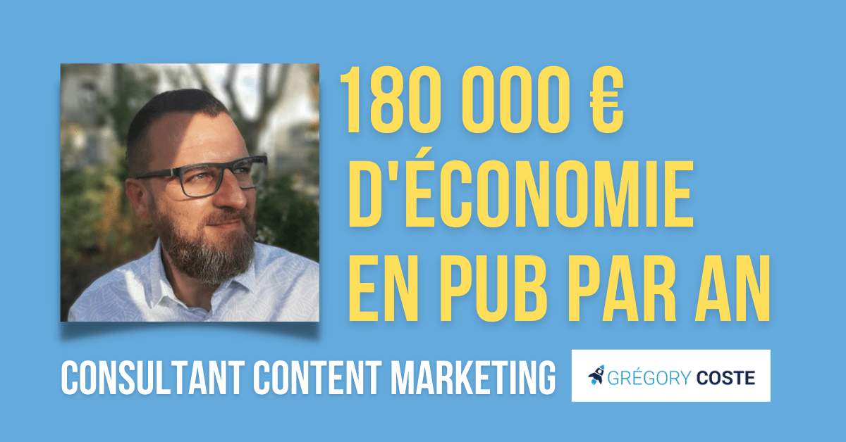content marketing consultant : Grégory Coste